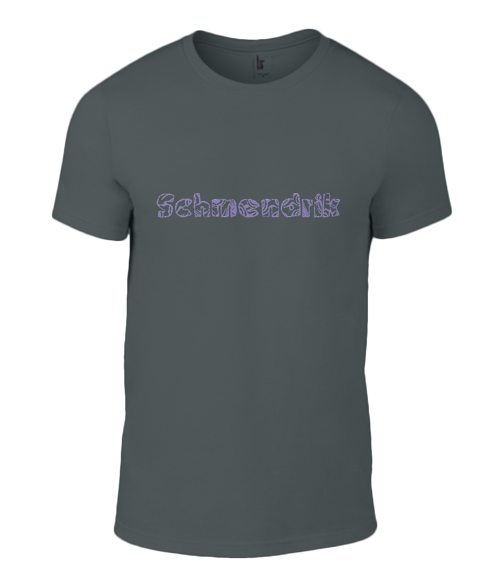 Round Neck T-Shirt - Schmendrick - Lokshen Pudding UK - Black