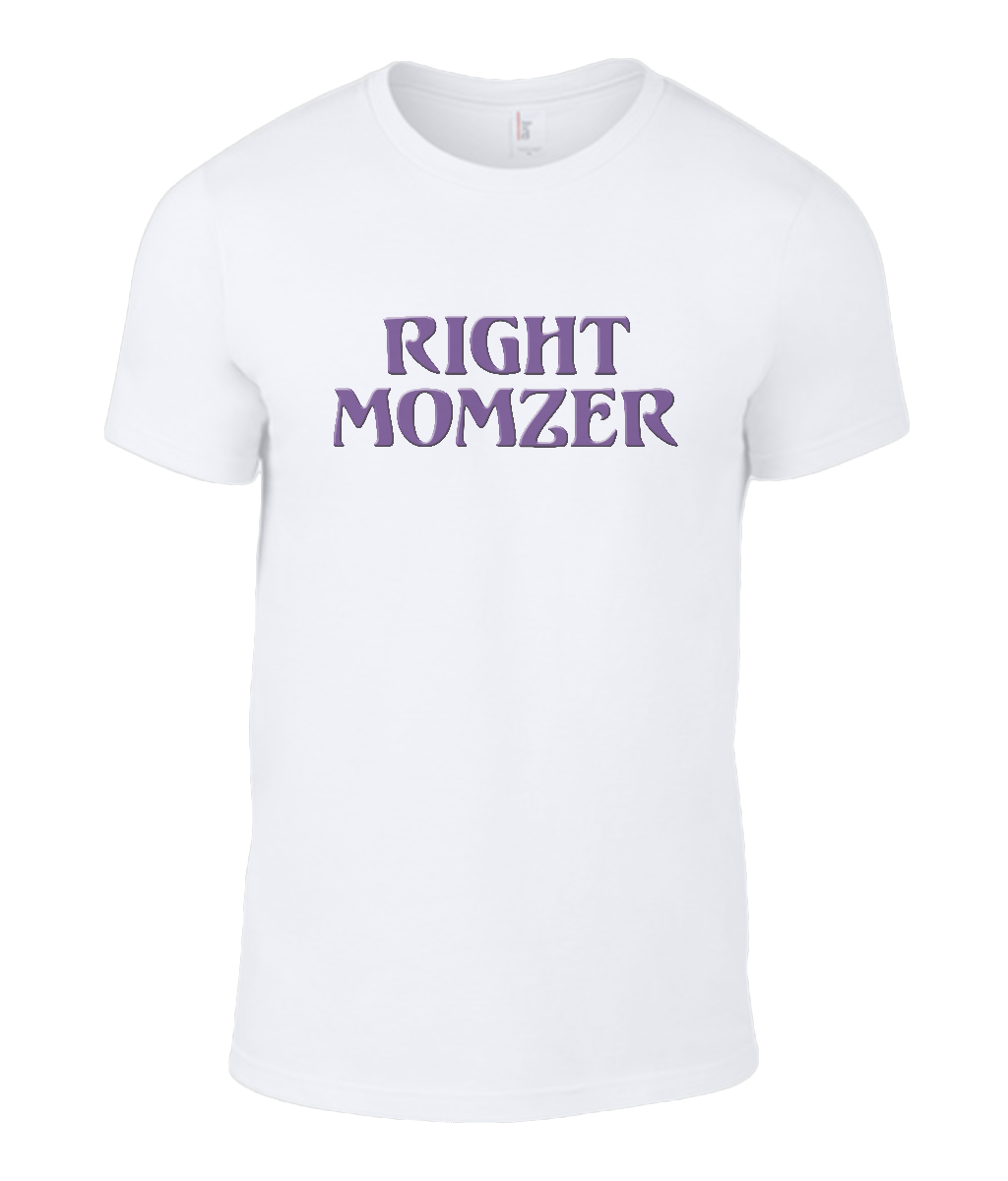 Round Neck T-Shirt - Right Momzer