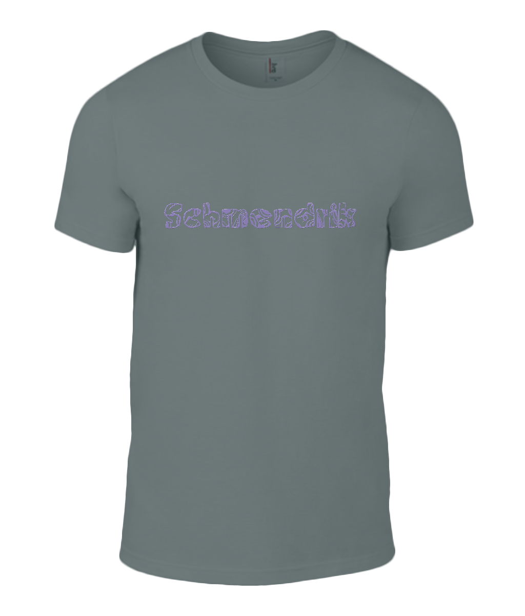 Round Neck T-Shirt - Schmendrick - Lokshen Pudding UK - Grey