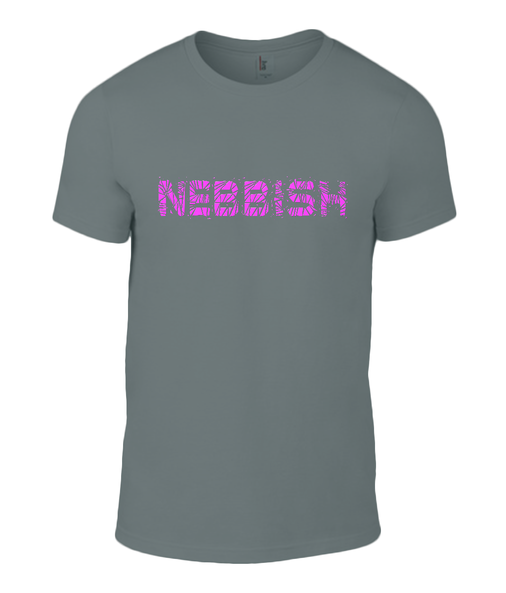 Round Neck T-Shirt - Nebbish - Lokshen Pudding UK - Grey