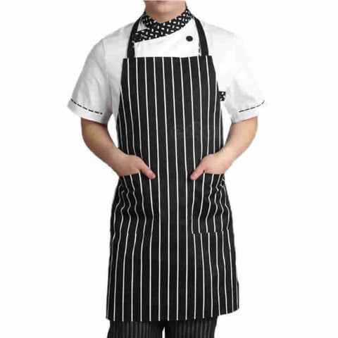 Adjustable Chef Apron w/ 2 Pockets