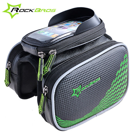 ROCKBROS Front Frame Double Pouch Cycling Pannier
