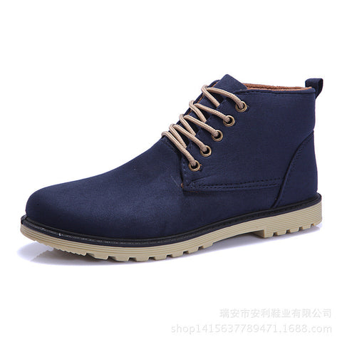 Men Casual Style Boots