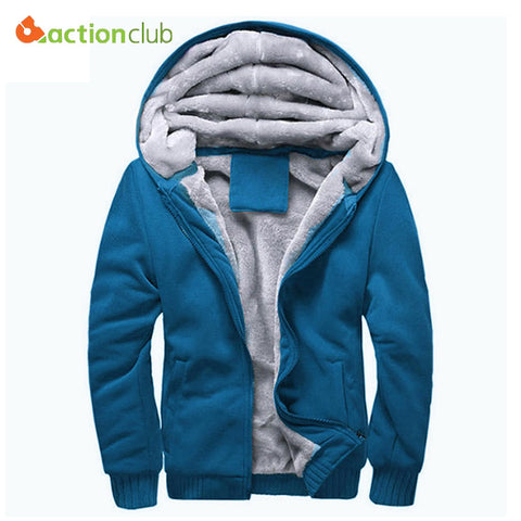 ActionClub Thick Warm Men Hoodie