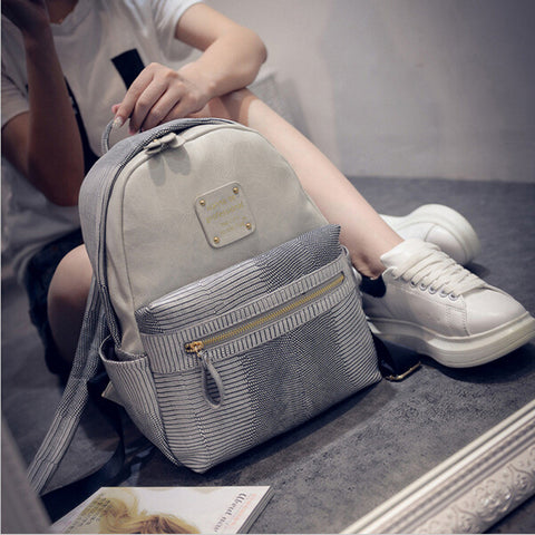 Fashion Leather Women Backpack