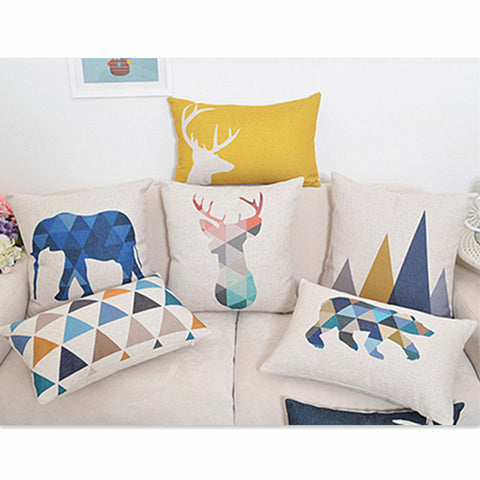 Animal Printing Home Decorative Pillow Covers