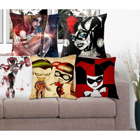 Cartoon Home Decorative Pillow Covers