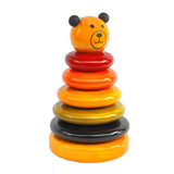 Maya Organic wooden stacker toy - Cubby