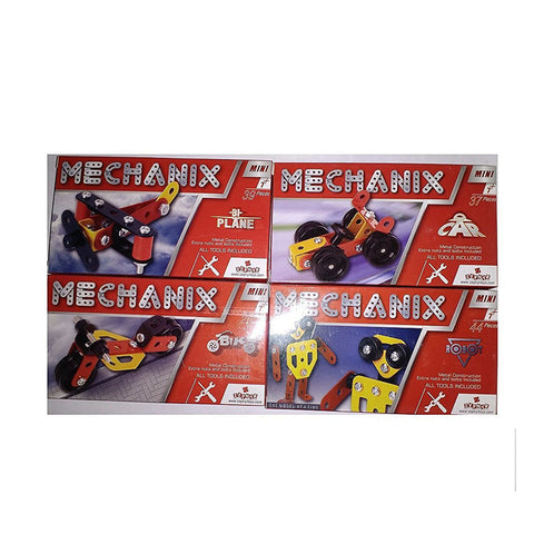 Mechanix Mini - Car, Bike, Plane, Robot