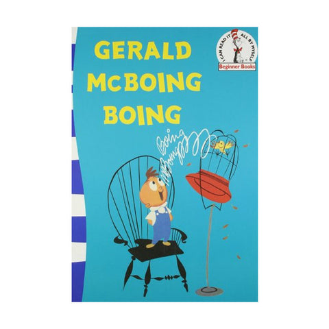 Gerald McBoing Boing: Green Back Book (Dr. Seuss - Green Back Book)