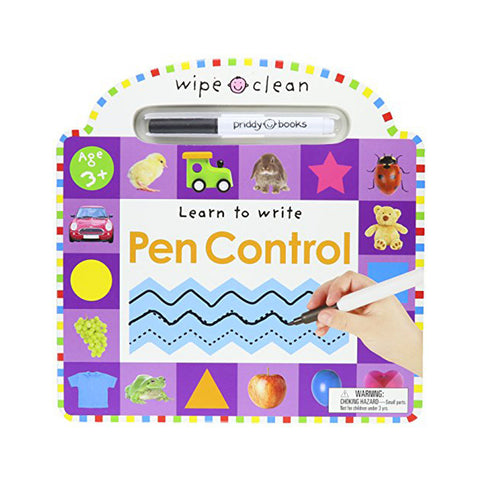 Wipe Clean Pen Control