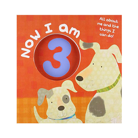 Now I am 3 (Number Touch & Feel Books)