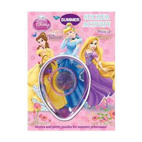 Princess Bumper Sticker Activity