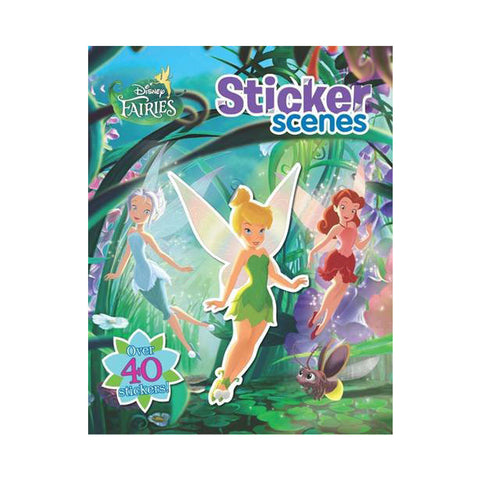 Disney Fairies Sticker Scenes (Disney Sticker Scenes)