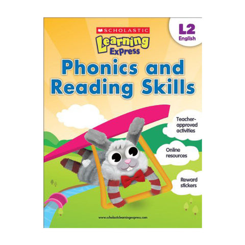 Scholastic Learning Express Level 2 - Phonics and Reading