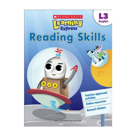 Scholastic Learning Express Level 3 - Reading Skills