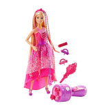 Barbie Endless Hair Kingdom Snap N Style Princess, Multi Color