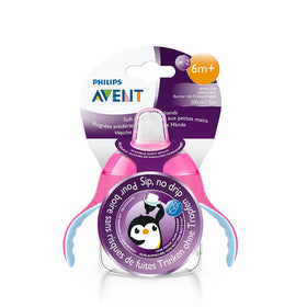 Philips Avent Premium Soft Spout Cup 200ml - Pink (Single Pack)