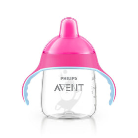 Philips Avent Premium Spout Cup 260ml - Pink (Single Pack)