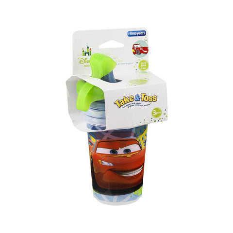 First Years Y9294 10 Oz Cars Take & Toss Sippy Cup