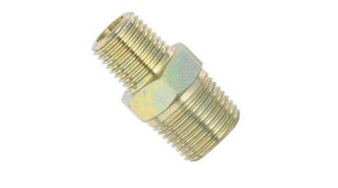 "1/4"" Male x 3/8"" Male Brass Fitting"