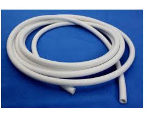 10mm ID x 14mm OD White Silicone Tubing, By The Metre