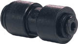 15mm Pushfit Equal Straight Connector