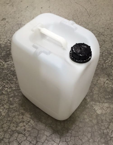 20 Litre Jerry Can With Lid, 400mm x 290mm x 240mm