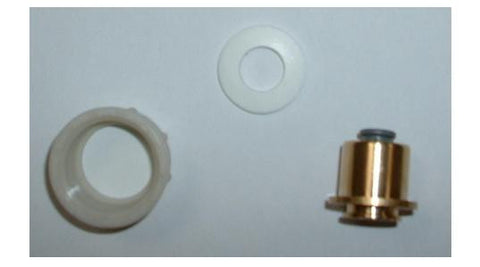 "3/4"" BSP Female x 1/4"" Pushfit Adaptor (2 Piece, Brass Body & Plastic Nut)"