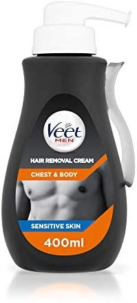 BEST Men Hair Removal Cream Chest Body 400ml Directions Read Follow All PREMIUM