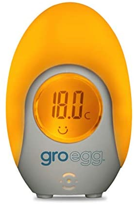 The Gro Company Thermometer Baby Gro Grow Digital Portable Travel Egg Room Kids