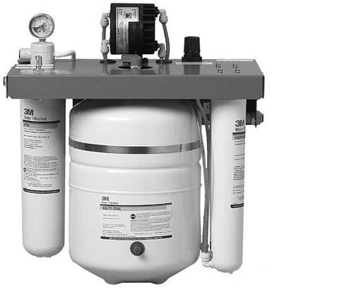 "3M Cuno SGLP2-BL 3/8"" Pushfit Dual Port Reverse Osmosis System"