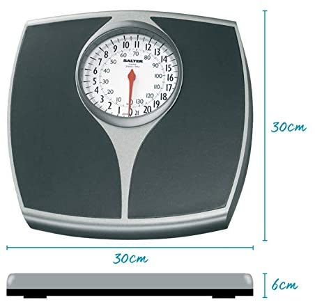 Salter Speedo Mechanical Bathroom Scales Fast Accurate and Reliable Weighing