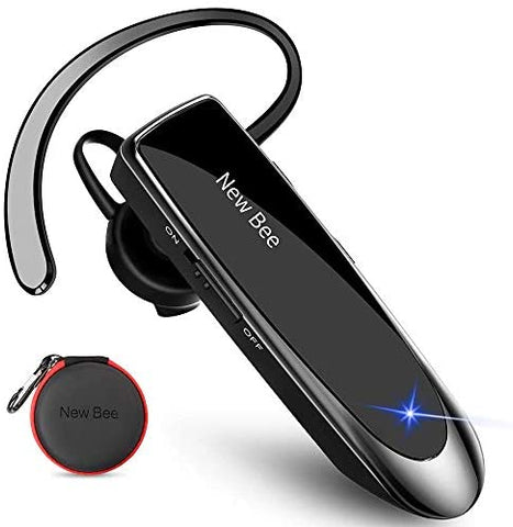 New Wireless Bluetooth Headset Mobile Phone Hands Free Earpiece With Microphone