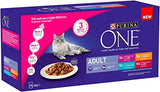 PURINA ONE Adult Cat Food Mini Fillets in Gravy, 40 x 85g: Amazon.co.uk: Pet Supplies