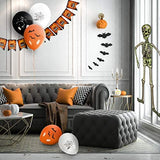 THE TWIDDLERS 80 Halloween Party Decorations & Tableware - Complete Pack