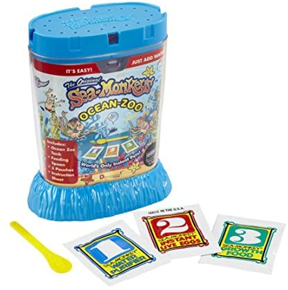 BEST 80482 Ocean Zoo Now You Can Have Your Own Sea Monkeys This Kit Give PREMIU