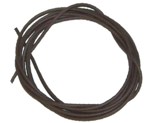5mm ID x 9mm OD Brown Silicone Tubing, By The Metre