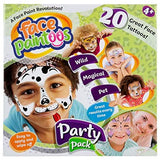 NEW FP101 Party Pack Temporary Face Paint Tattoos Removal wipes applicator