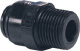 "6mm Pushfit x 1/4"" BSP Male Straight Adapter"