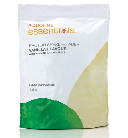 Arbonne Vanilla Protein Shake Powder, 1.3 KG (Approximately 30 Servings)