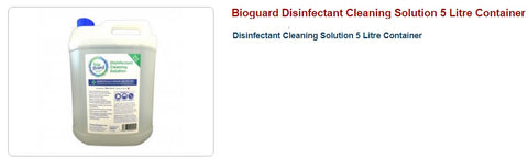 Bioguard Disinfectant Cleaning Solution, 5 Litre Container