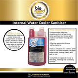 Bioguard Internal Water Cooler Sanitiser, 1 Litre Bottle