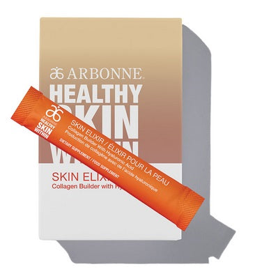 Arbonne Healthy Skin Within Skin Elixir Collagen Builder with Hyaluronic Acid (6105)