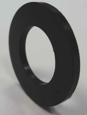 Black NitriIe Washer, 24mm OD, 14mm ID, 2mm Thick
