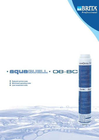 Brita Replacement Aqua Quell 06-BC Water Filter Cartridge (Without Head)