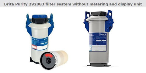 Brita Purity 1200 Clean Complete System (This Item Consists Of Pressure Vessel, Cartridge, Head Without Display & Hose Set