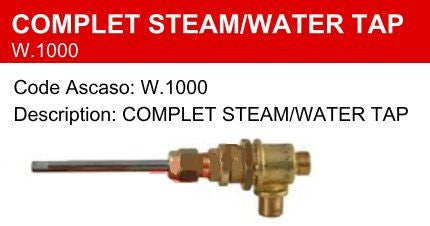 CMA (Astoria, Wega, Costa, Astra) Complete Steam / Water Tap