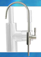 "Venice Model Drinking Faucet / Tap c/w 7/16"" UNS Male (Brass Nickel Version)"
