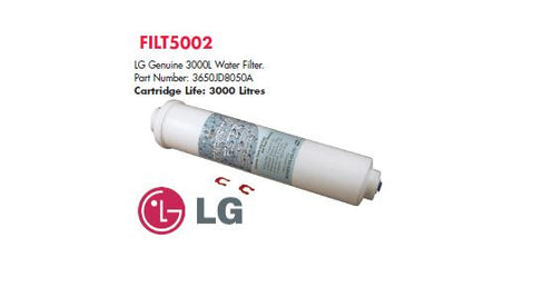 LG 3650JD8050A Internal Fridge Filter, 3000 Litres